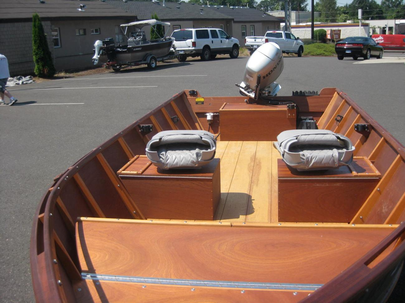 A sample of our Willamette River Skiff
