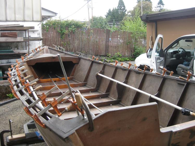 Wood Boat Repairs & Restoration