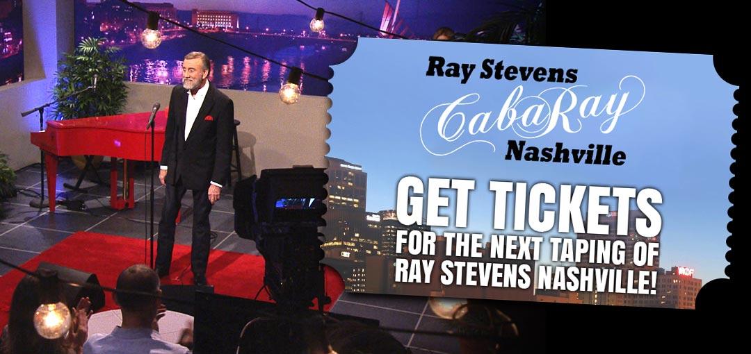Ray Invites You To The Taping Of Ray Stevens Nashville Ray Stevens