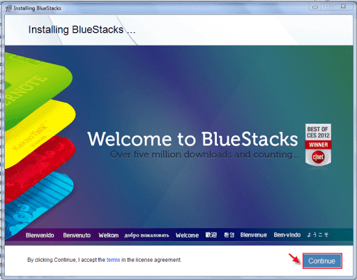 Cara Instal Android di PC dengan BlueStacks