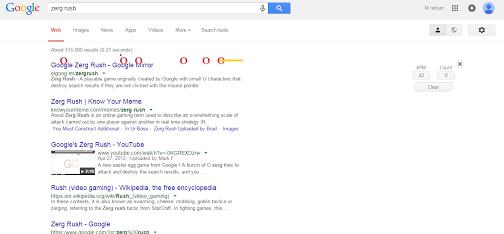Keyword Google - Zerg Rush