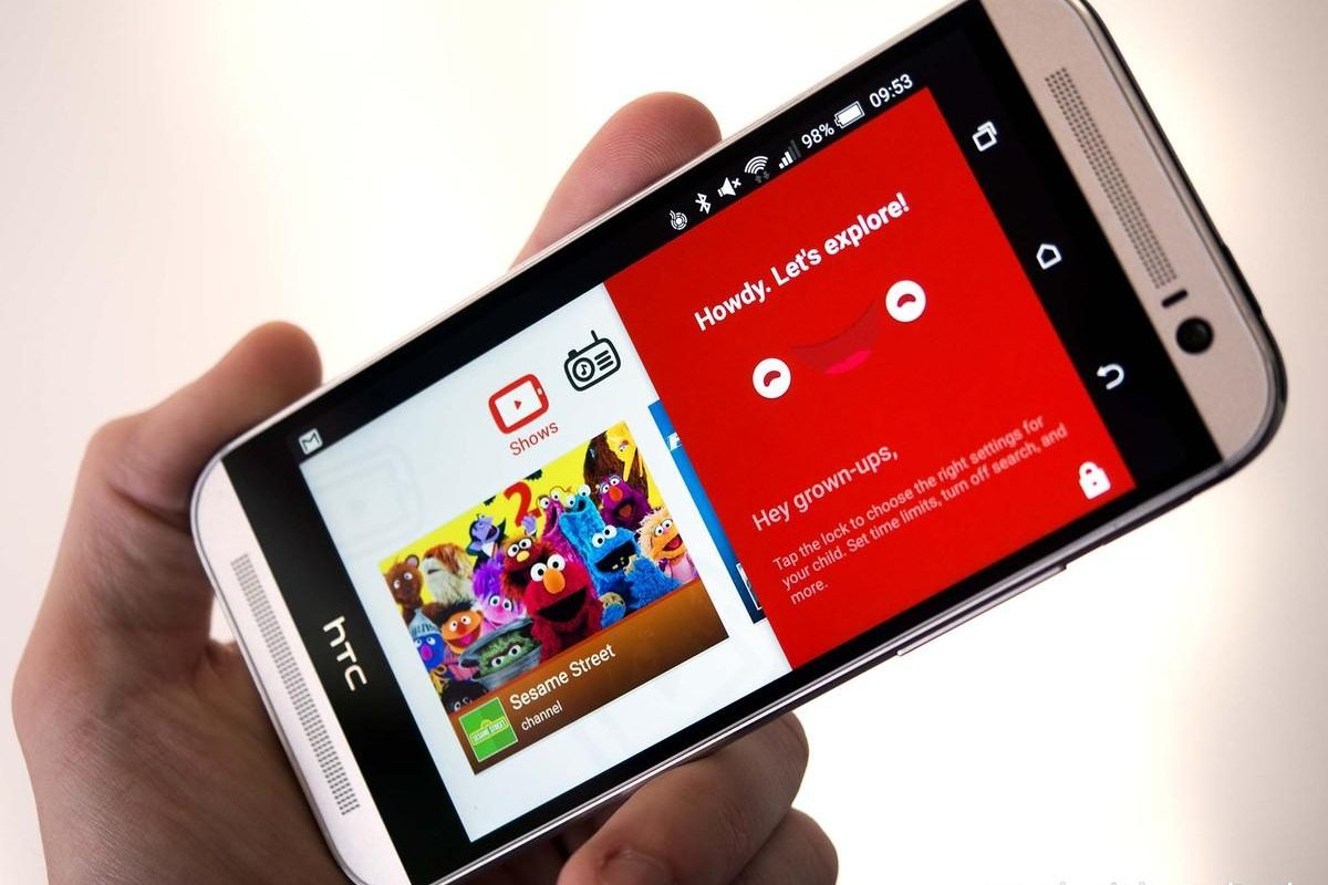 Youtube Android Cover Old Version in HTC