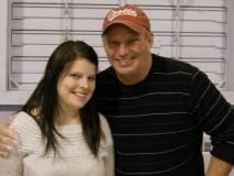 Ward 5 aldreman Steve Mock and daughter