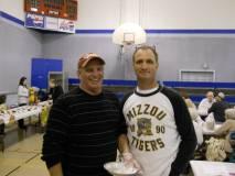 Aldermen Steve Mock and Joe Creamer