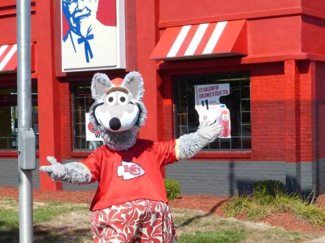 kc wolf in front