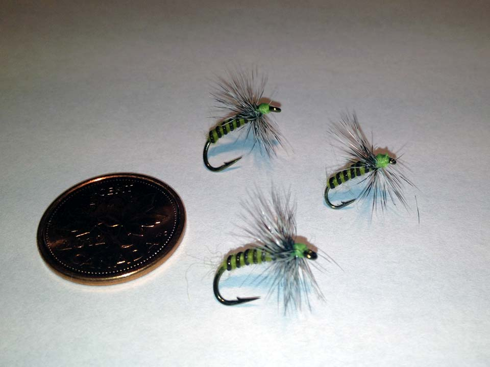 Olive Grizzly Dry Fly