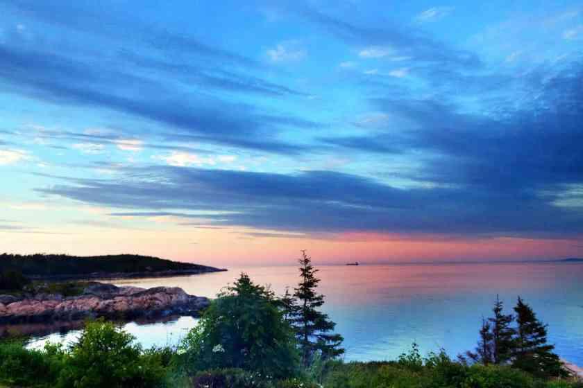 Sunset at Le Paradis Marin