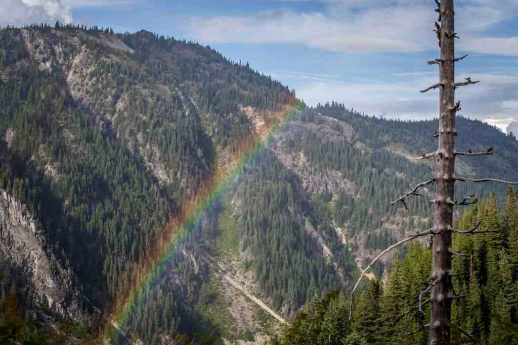 Rainbow near Mt. Ranier