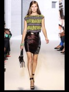 Andrew Gn music fun symphony color mix and match print hip funky pop Spring Summer 2014 fashionweek paris london milan newyork nyc-9