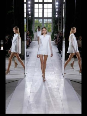Balenciaga elegance tailored tweed emroiderry sequence print hip funky pop Spring Summer 2014 fashionweek paris london milan newyork nyc-29