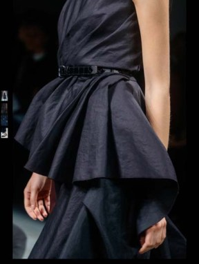 Bottega Veneta dark gothic elegant classic tailored ruffles earthy funky pop Spring Summer 2014 fashionweek paris london milan newyork nyc-24