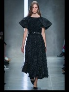 Bottega Veneta dark gothic elegant classic tailored ruffles earthy funky pop Spring Summer 2014 fashionweek paris london milan newyork nyc-26