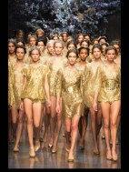 Dolce & Gabbana collection theme roman romanian empire Fashion Week Spring Summer 2014 paris milan london nyc newyork -117