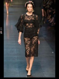Dolce & Gabbana collection theme roman romanian empire Fashion Week Spring Summer 2014 paris milan london nyc newyork -88
