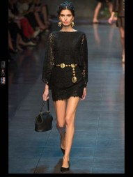 Dolce & Gabbana collection theme roman romanian empire Fashion Week Spring Summer 2014 paris milan london nyc newyork -89