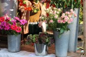 Kreuzberg Berlin Market and festival flower shop