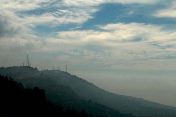 Al Salt, AsSalt, Al-Salt, AlSalt, Jordan, cloudy mountains