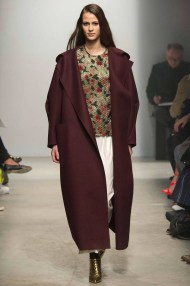 burgundy long coat Favorite coats for this fall winter 2014 2015 ready to wear collections