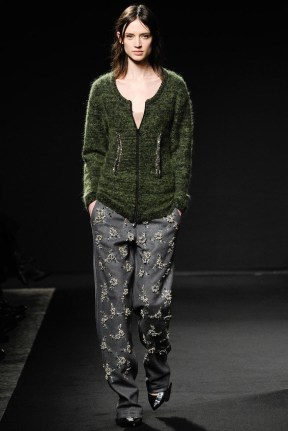 green top and pants Earth colors ready to wear