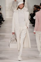 white Head to toe one Mono color winter ready to wear