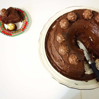 Full recipe Ferrero Rocher Cake