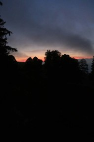Sunrise Jura Mountains Switzerland