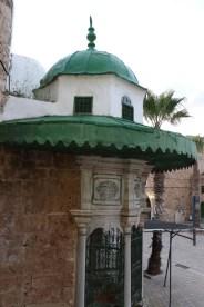 The old green pasha mosque in Akka Akko