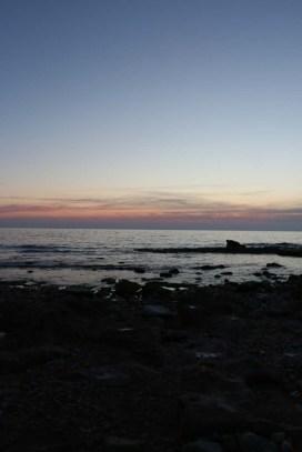 The Mediterranean beach in occupied Palestine Israel