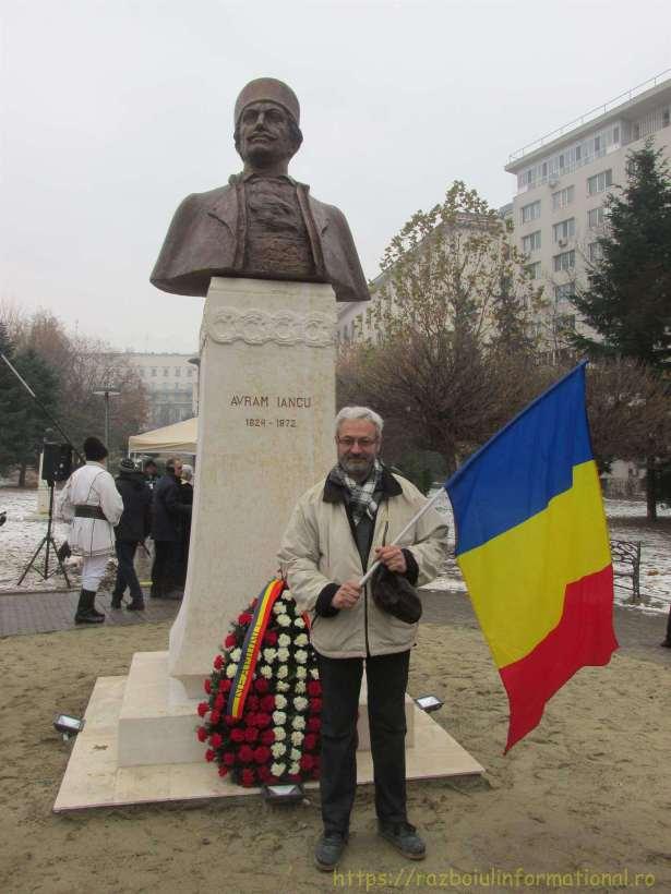 IMG 0344 Copy 768x1024 - Bustul lui Avram Iancu, dezvelit la București