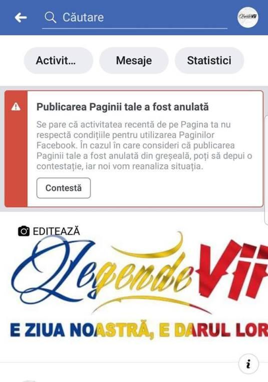 """50576412 2294642613893519 8641244221233168384 n - FaceBook se lupta cu istoria, pagina magazinului """"Legende vii"""" a fost închisă"""