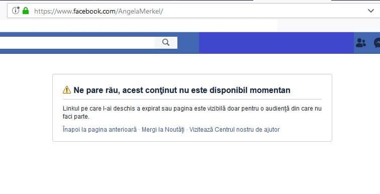kkkggg - Angela Merkel și-a închis contul de FaceBook