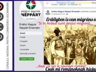 mesaj sovin - Mesaj șovin la adresa românilor; CNCD nu se autosesizează ?