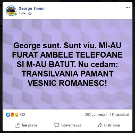 ScreenShot 20190518010756 - Cimitirul din  Valea Uzului și Agresiunea lui George Simion