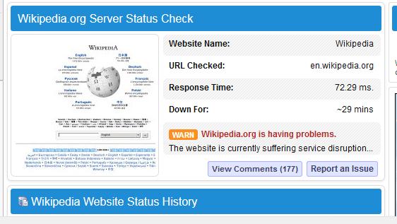 """ScreenShot 20190627055952 - Enciclopedia online Wikipedia s-a """"prăbuşit"""" în această dimineaţă"""