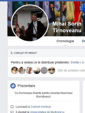 ScreenShot 20190808040243 - Doctorul Mihai Tîrnoveanu anchetat de  CNCD pentru că l-a citat pe Eminescu