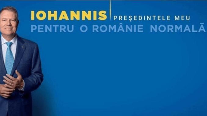 Klaus Iohannis afisi ilegal