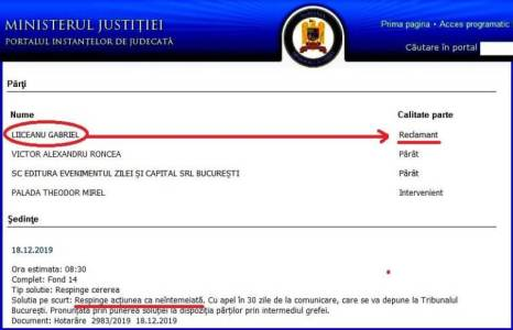 Proces Liiceanu Roncea Evz Tribunalul Bucuresti 2019 300x193 - Semne bune anul are: Victor Roncea a câştigat procesul cu GDS şi Liiceanu