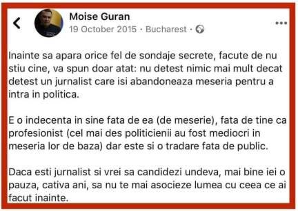 """mose agent 300x213 - Jurnalistul Moise Guran """"transferat"""" la un alt loc de muncă?"""