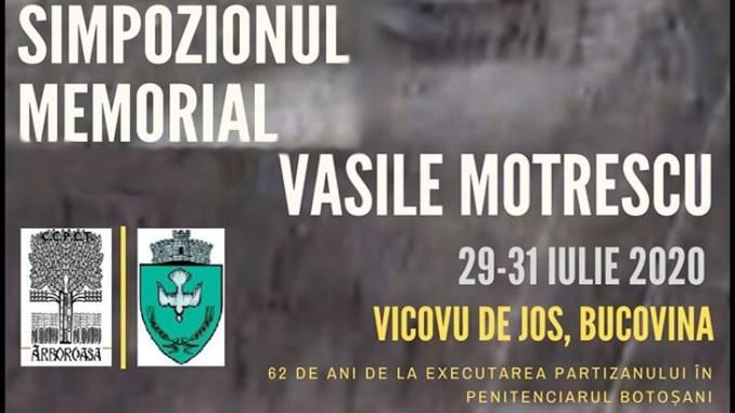 Simpozionul Memorial Vasile Motrescu