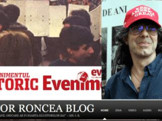 Jurnalistul Victor Roncea si Roncea.ro