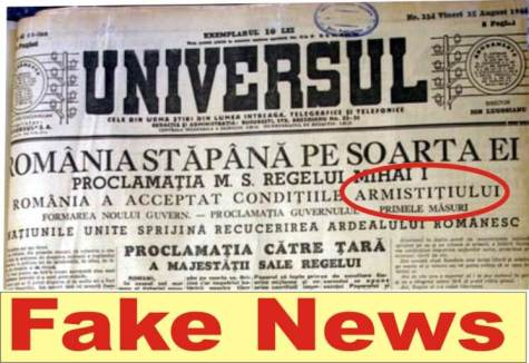 23 1944 300x206 - 23 august 1944, Regele Mihai cel mai mare Fake News din istoria României