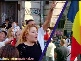 Gestul ciudat al doamnei senator Diana Șoșoacă
