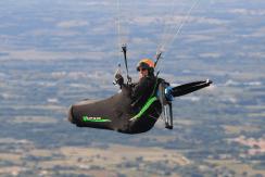 electric paraglider , parapente electrique
