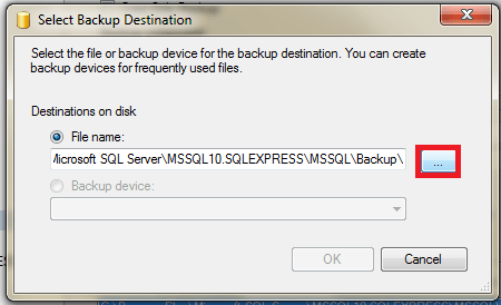 Create Backup, Restore, Attach database in SQL Server 2008 (3/6)