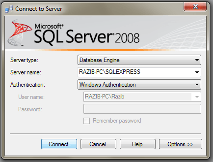 SQL Server 2008 Basics & Connection with VS2010 (3/6)