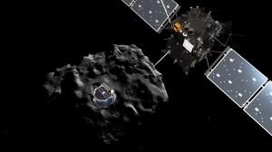 Philae se separa de Rosetta