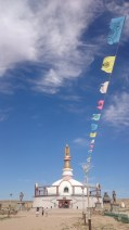 Prayer flags at Khamarin Khiid