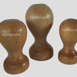 Dřevěné razítko kulaté, kruhové