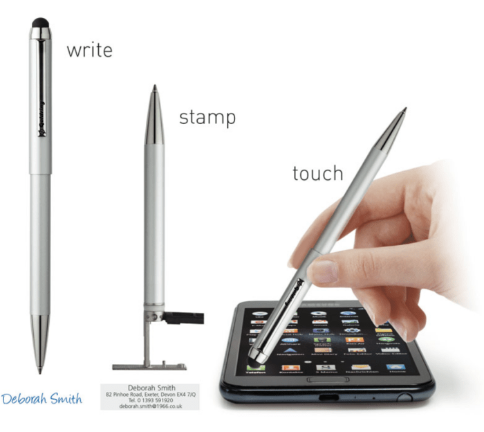 Goldring Smart Style, tužka s razítkem Trodat