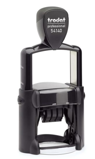 Razítko Trodat 54140 Professional, datumovka, datumové razítko, 3 mm, kulaté razítko